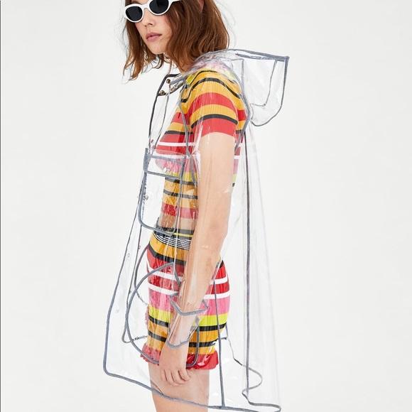 716abd551 Zara raincoat NWT